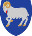 Coat of arms of the Faroe Islands.png