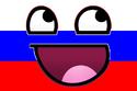 Bandeira de Rusia