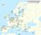 Mapa de Europa coas CEC