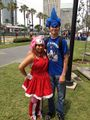 Amyputa Rose e Sonic cosplayers.jpg