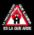 Iglesia que arde sinalización.jpg