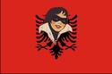 Bandeira de República kosovar de Albania