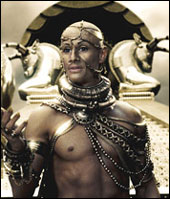 O rei Xerxes