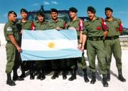 Típicos civis argentinos