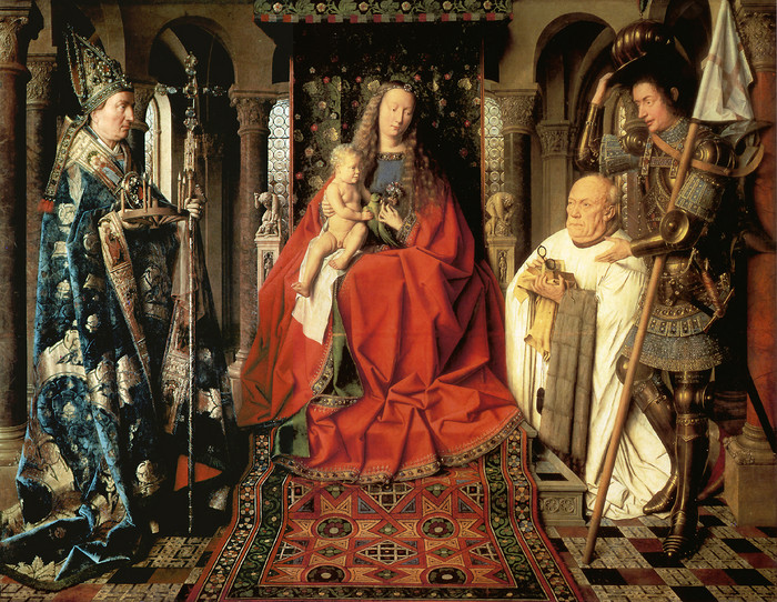 ファイル:Virgin and Child with Canon van der Paele.jpg