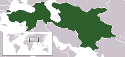 室町幕府の位置