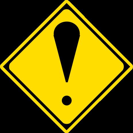 ファイル:Japanese Road sign (Other dangers) svg.png