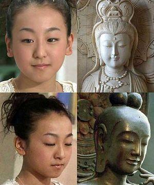 浅田真央が観音様みたいな顔してるのは何でなの?