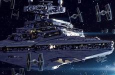 「新たなる希望」]において大量出撃する帝国軍。