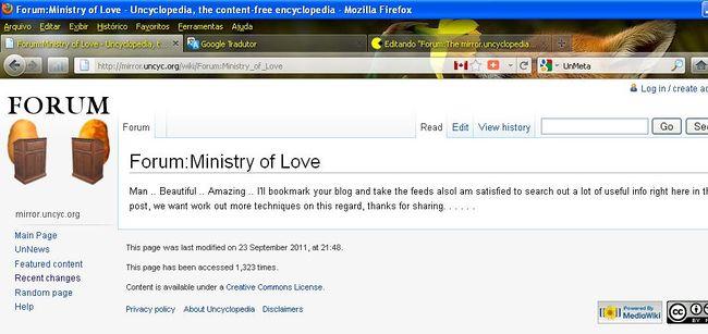 Ministery of love vandalized.jpg
