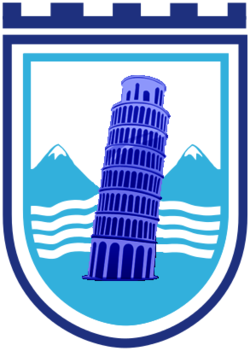 Coat of Arms of Gostivar (with the Tower of Pisa).png