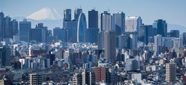 Skyline of Downtown Tokyo with Fuji.jpg