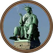Liberty Statue smoking (into US Seal).jpg