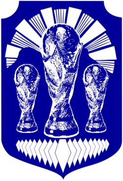 Coat of Arms of Prilep (with FIFA World Cup trophy).png
