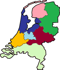 Locatie binnen Laaglandse Bond