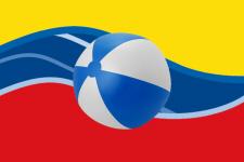 Vlag van Westende