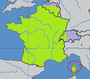 Het Europese Langue d'oïle taalgebied.