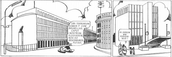 Terug van teruggeweest: Nero in het Brussel van 1953.