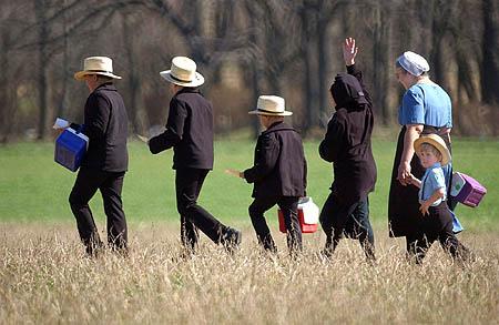 Het imago van het conservatisme, de Amish