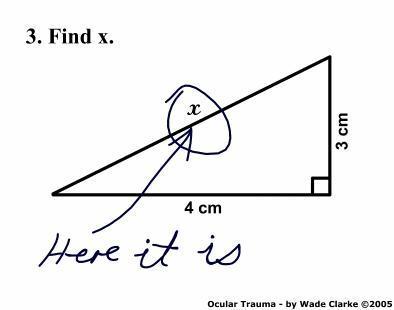 Meetkunde is wel erg makkelijk als je logica gebruikt