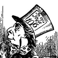 Een hoed van 10 pond en 6 shilling.