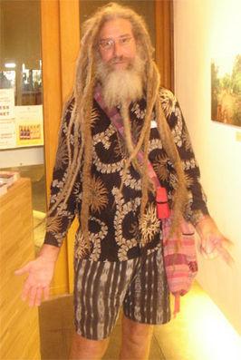 Een anonieme hippie