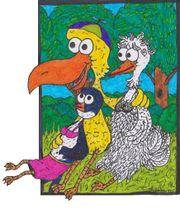 Der Spassvogel mit der Hochzeitstaube und der Bordsteinschwalbe.jpg