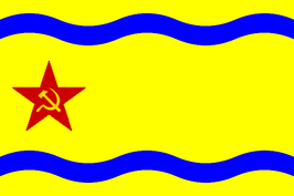 De vlag van de Krim