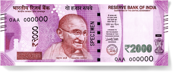 Een speciaal stripboek van Gandhi ter ere van het jaar 2000.