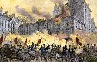 De bestorming van de Bastille.
