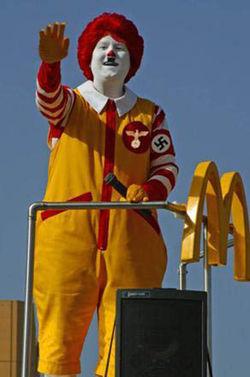 Ronald McDonald in de periode 1939-1945