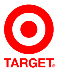 Het logo van Target nu.