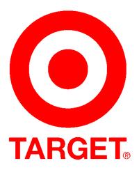 Het logo van Target nu.