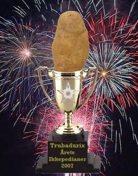 Årets Ikkepedianer 2007 Trubadurix.jpg