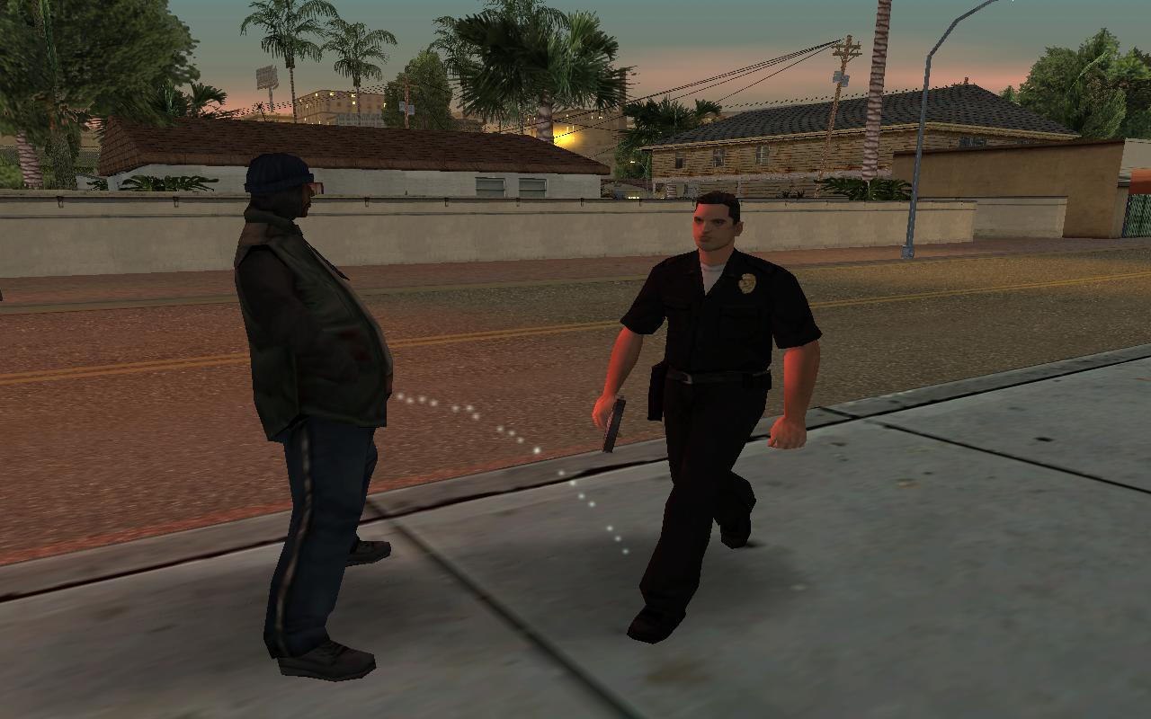 Policiais de San Andreas são conhecidos como os mais respeitados do mundo.