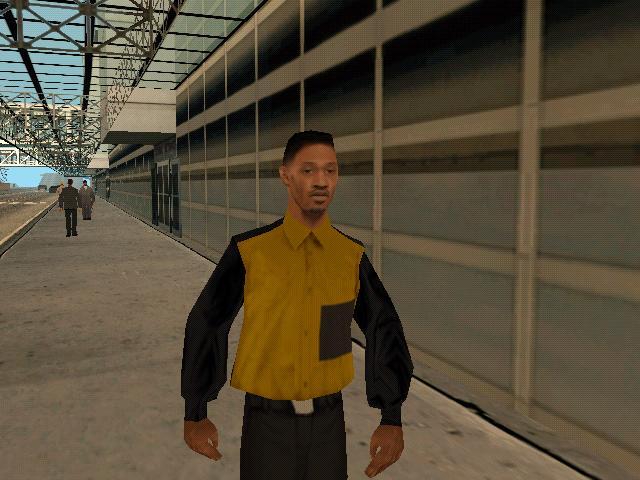 Will Smith dando umas voltas em San Andreas.