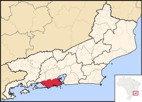 Localização de Rio de Janeiro (Capital)