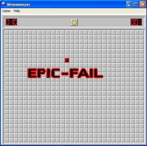 Minesweeper game fail windows epic.jpg