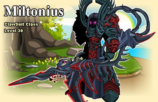 As Ungodly juntamente com a armadura Warlord, que o Dage plagiou e fez a sua Prometheus.