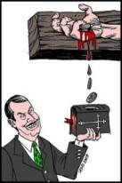 Edir Macedo comprova que o $angue de Cri$to tem poder, inclu$ive de se tran$formar em dinheiro.