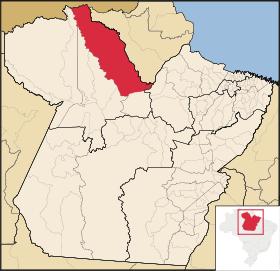 Localização de Almeirim