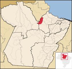 Localização de Gurupá