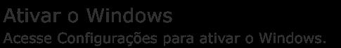 Mensagem que aparece logo após de instalar o Windows a partir de um CD original que você acabou de comprar faz 2 horas na loja de informática!