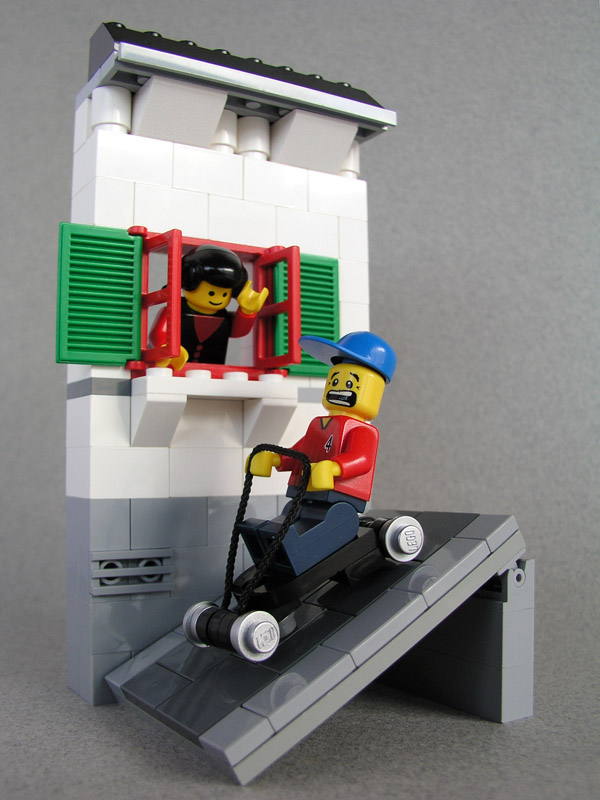 Rolimã de Lego.