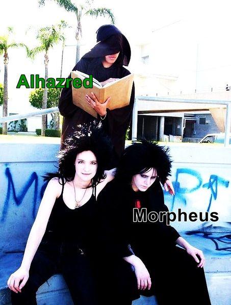 Alhazred e Morpheus.jpg