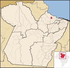 Localização de Santa Cruz do Arari