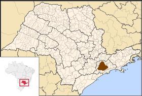 Localização de Taboão da Serra