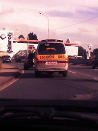 Caravana do Inferno circulando em Curitiba.