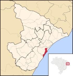 Localização de Araracaju