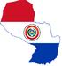 Flag-map Paraguai.png